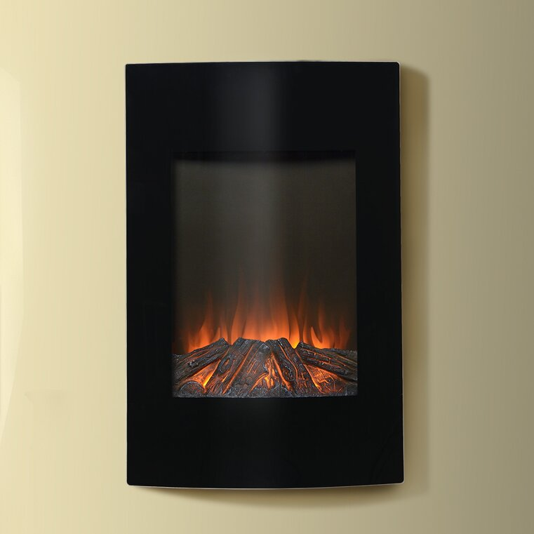 Electric Fireplace electric fireplace wall mount : Homestar Flamelux 35