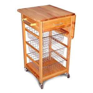 sundance kitchen cart | wayfair