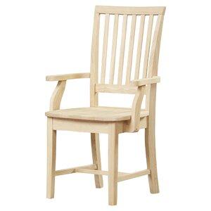 Pleasanton Solid Wood Dining Chair by Loon Peak