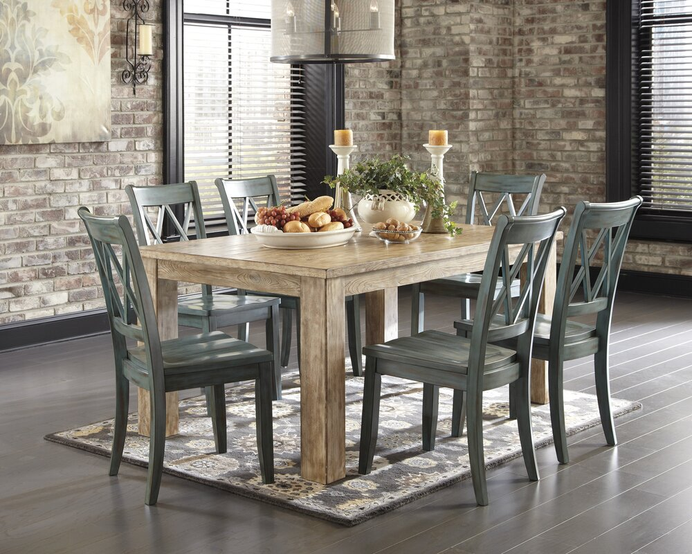 Castle Pines Dining Table  Farmhouse Dining Room Table
