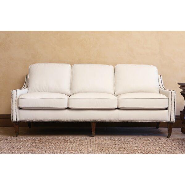 darby home co boneta bonded leather sofa reviews wayfair. Interior Design Ideas. Home Design Ideas