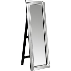 Floor mirrors you 39 ll love wayfair for Gray full length mirror