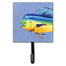 Dolphin Mahi Mahi Leash Holder and Wall Hook by Caroline's Treasures