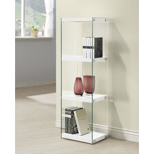 Natalie 52.5 Accent Shelves Bookcase by Wade Logan