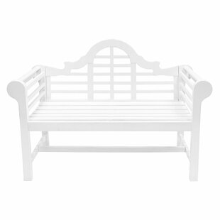White Wooden Garden Furniture White outdoor benches youll love wayfair save to idea board workwithnaturefo