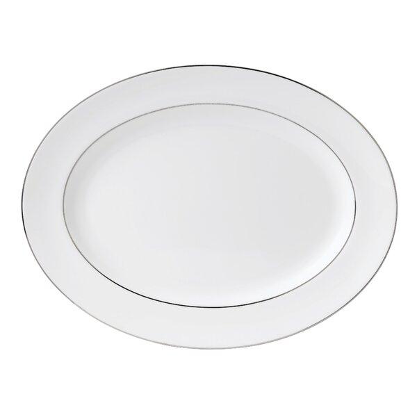 Signet Platinum Oval Platter by Wedgwood