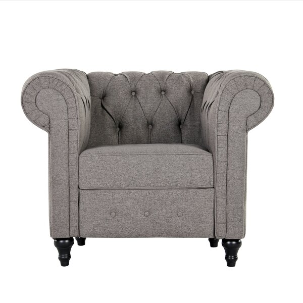 Teressa Chesterfield Chair by Darby Home Co Darby Home Co