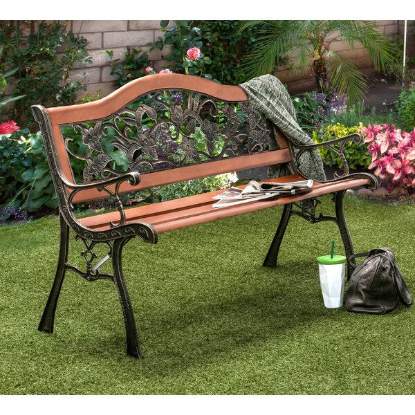Hillary Outdoor Garden Bench by Fleur De Lis Living