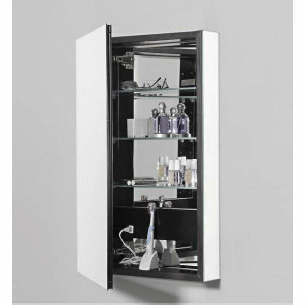 PL Series Surface Mount Frameless Medicine Cabinet with 3 Adjustable Shelves