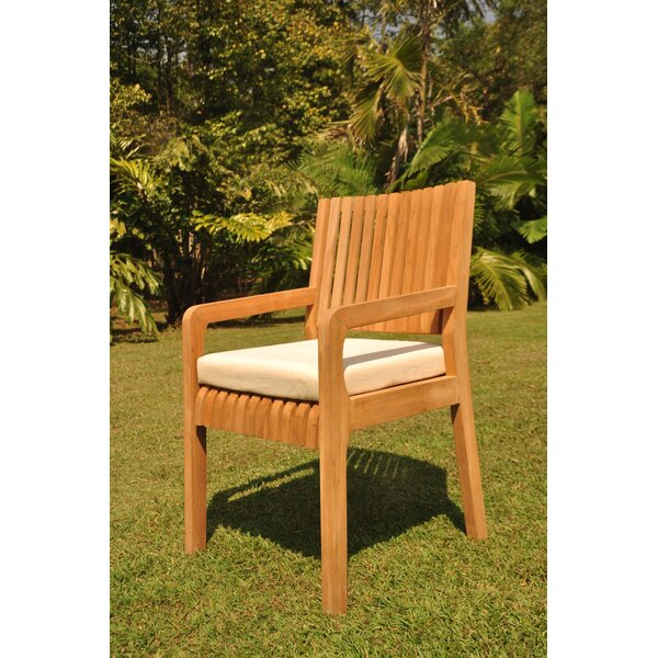 Maldives Folding Teak Patio Dining Chair by Teak Smith