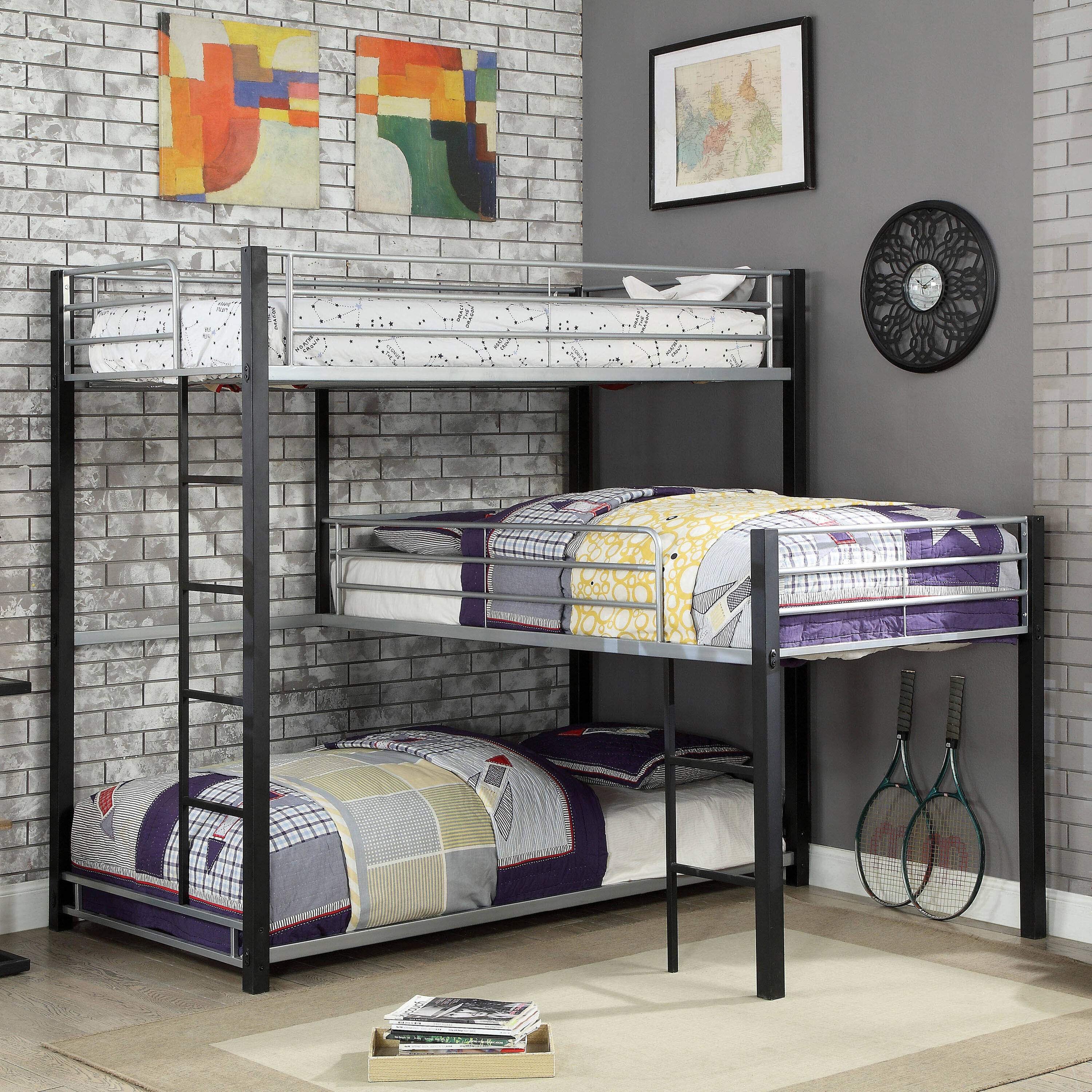 Unique Triple Bunk Beds Cheaper Than Retail Price Buy Clothing Accessories And Lifestyle Products For Women Men
