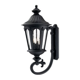 Price Check Mukai 4-Light Outdoor Sconce By Beachcrest Home