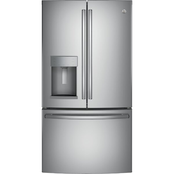 22.2 cu. ft. Energy Star® Counter Depth French Door Refrigerator by GE Appliances