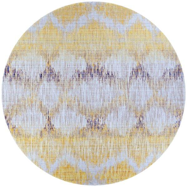Beyer Gold/Purple Indoor/Outdoor Area Rug