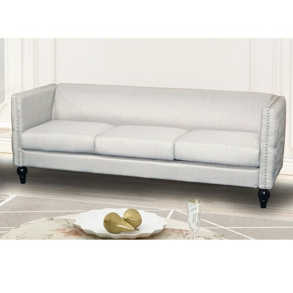 Our Recommended Lacayo Modern Nail-head Sofa by House of Hampton by House of Hampton