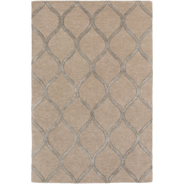 Bronaugh Modern Hand-Tufted Brown Area Rug by Greyleigh