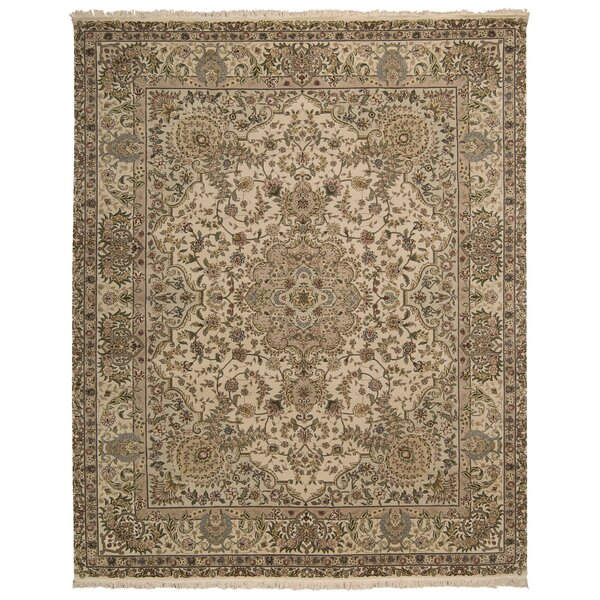 Beason Hand-Woven Beige Area Rug by Darby Home Co