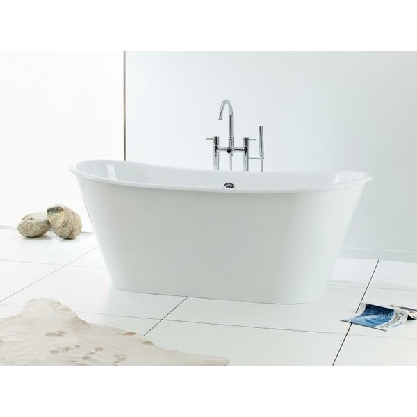 Iris 68 x 28 Soaking Bathtub by Cheviot Products