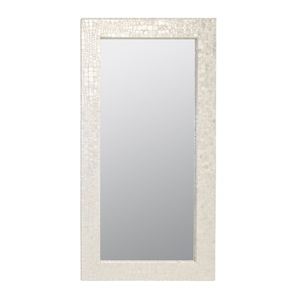 Croc Pattern Floor Full Length Mirror by Worlds Away