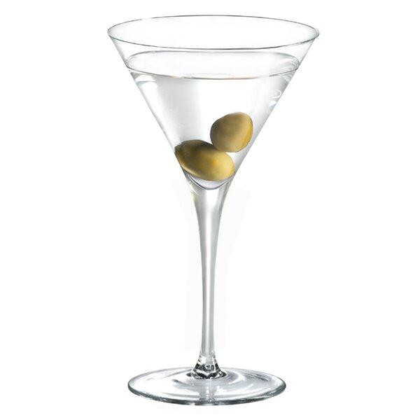 Stemware Distiller 8 oz. Crystal Cocktail Glass (Set of 4) by Ravenscroft Crystal