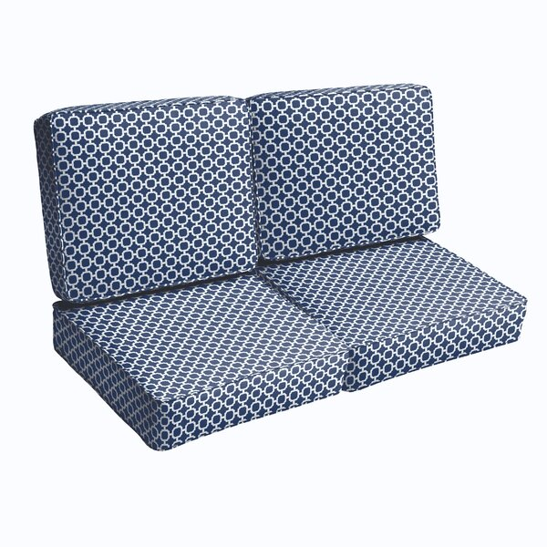 Loveseat Cushion by Breakwater Bay