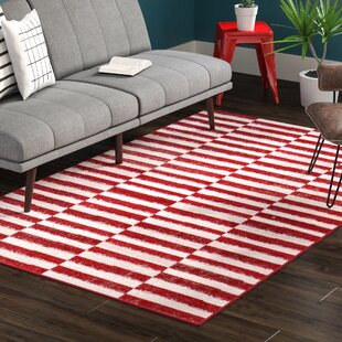Mcgrail Red Area Rug