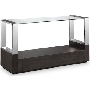 Ahlers Rectangular Console Table By Orren Ellis