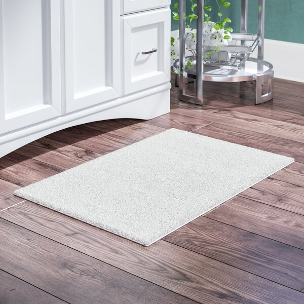 Fortney Rayon from Bamboo Cloud Cotton Blend Bath Rug