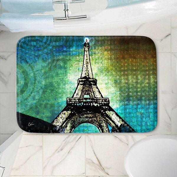 Corina Bakke's Eiffel Tower Non-Slip Bath Rug