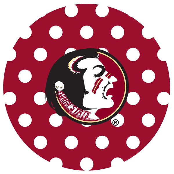 Florida State University Dots Collegiate Coaster (Set of 4) by Thirstystone