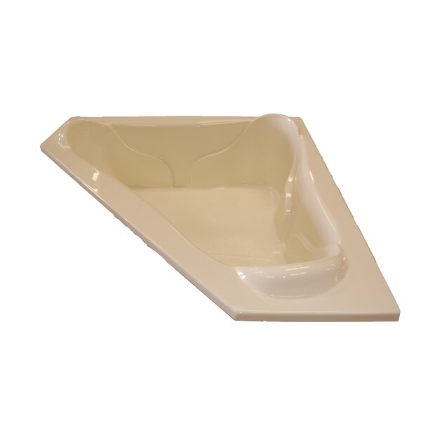 72 x 72 Corner Soaking Tub by American Acrylic