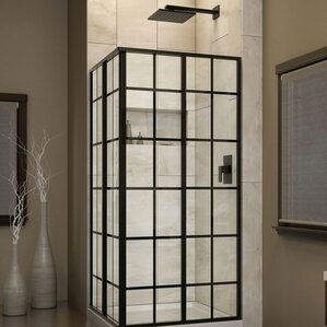 48x48 corner tub shower.  Shower Stalls Enclosures You ll Love Wayfair