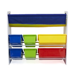 Sling Book Shelf And Toy Organizer