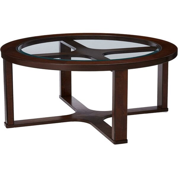 Micco Cross Legs Coffee Table With 4 Leatherette Stools By Red Barrel Studio