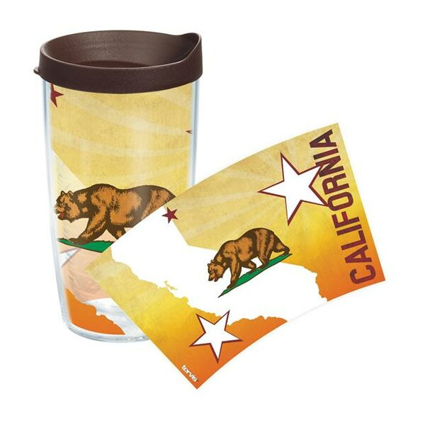 American Pride California Flag Colossal Plastic Travel Tumbler by Tervis Tumbler
