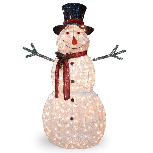 Crystal Snowman Christmas Decoration by The Holiday Aisle