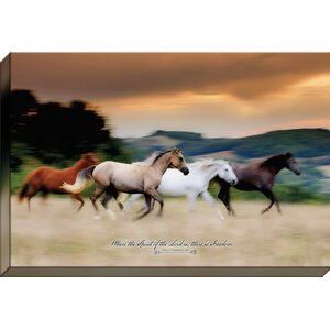Free to be 'Where the Spirit of the Lord is' Framed Graphic Art on Wrapped Canvas by Carpentree