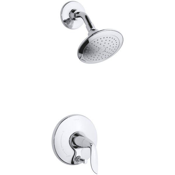 Refinia Shower Trim with Push-Button Diverter, Val