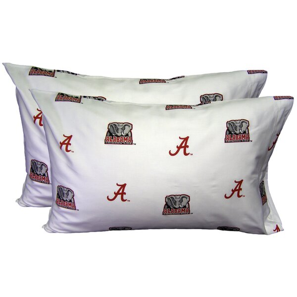 NCAA Alabama Pillowcase (Set of 2) by College Covers