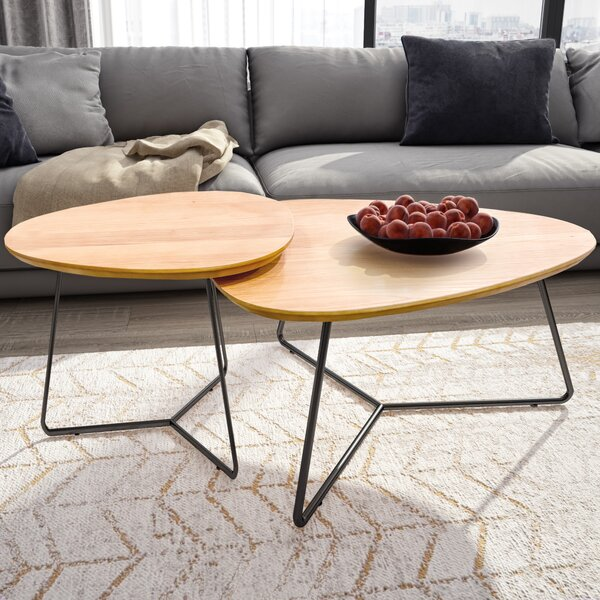 Barth 2 Piece Coffee Table Set by Foundry Select Foundry Select