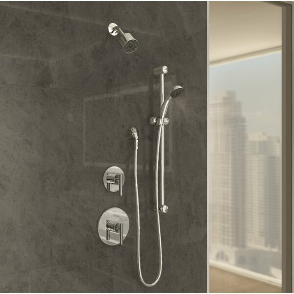 Dia Hand Shower System with Lever Handle by Symmons