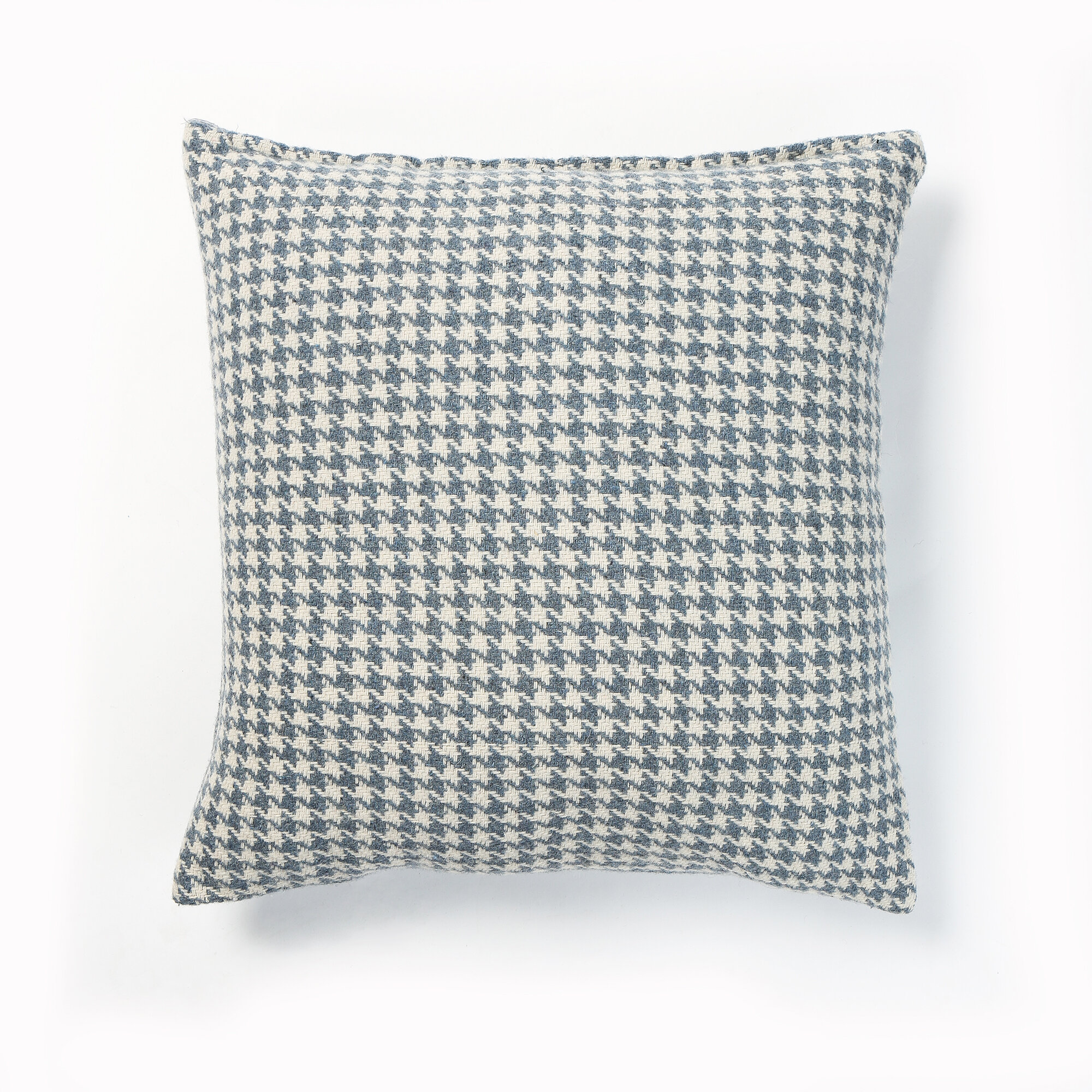 Best Home Fashion, Inc. Felted Wool Blend Houndstooth Pillow Cover ...