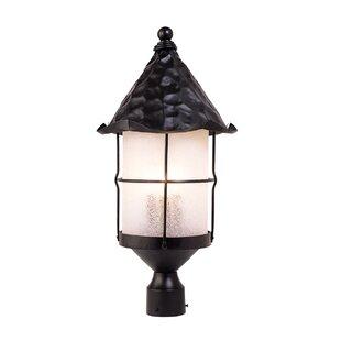 Read Reviews Rustica Outdoor 3-Light Lantern Head By Landmark Lighting