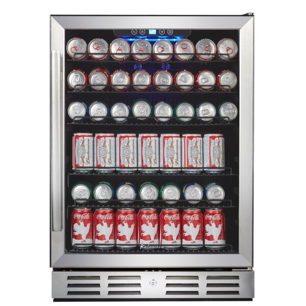 24-inch 2.2 cu. ft. Convertible Beverage Center by Kalamera
