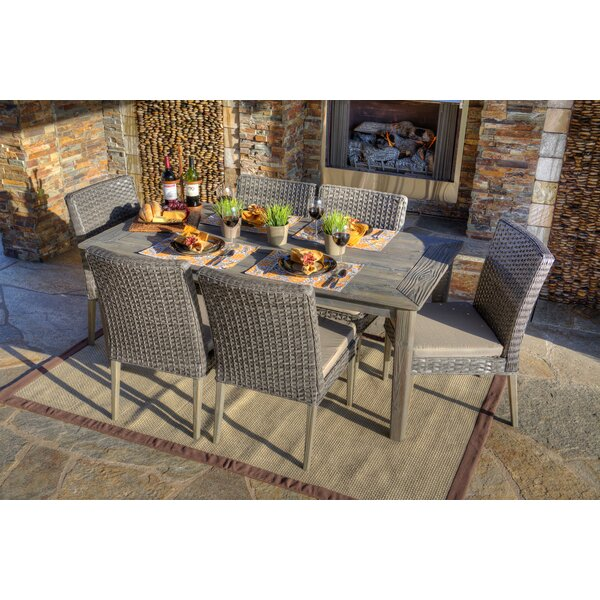 Thy Hom Winchester 7 Piece Dining Set With Cushion