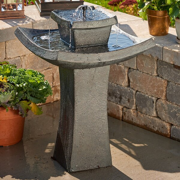 Fiberglass Solar Mahayana on Demand Fountain by Smart Solar