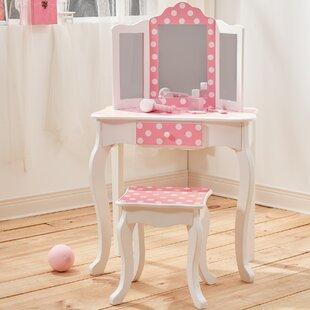 Girls Vanity Table | Wayfair.co.uk