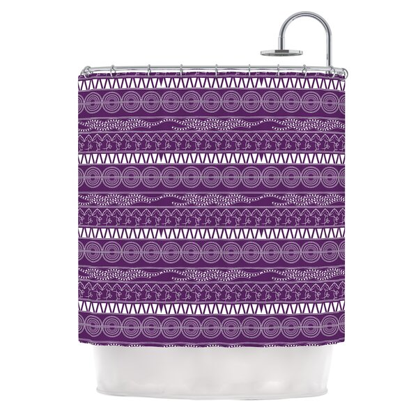 Pattern by Famenxt Abstract Shower Curtain by East Urban Home