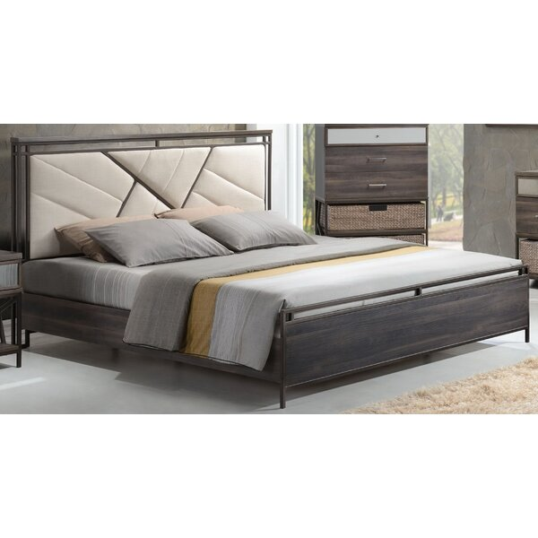 Andromeda Upholstered Panel Bed by Gracie Oaks