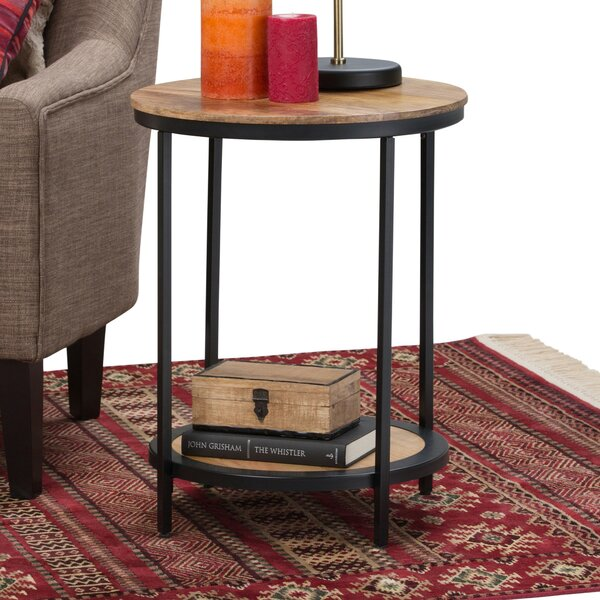 Suazo End Table by Williston Forge